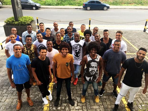 Candidatos concorrem ao Mister Black Bahia 2016 no próximo sábado (Foto: Binho Gomes da Silva/Divulgação)