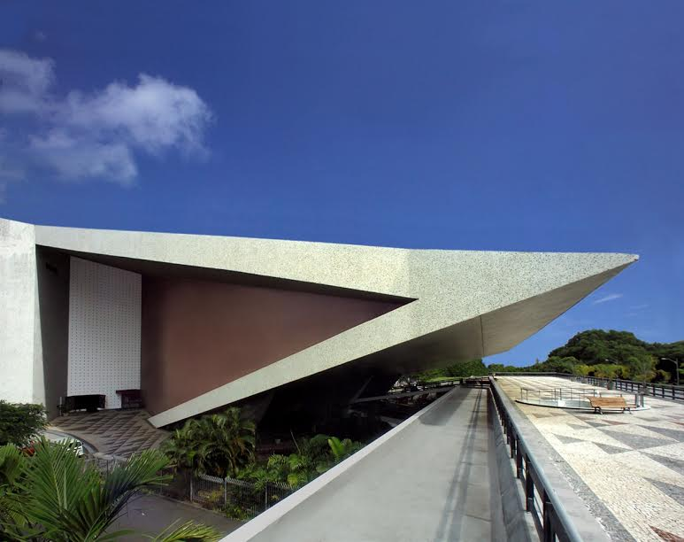 Teatro Castro Alves ângulo lateral - Crédito David Glat