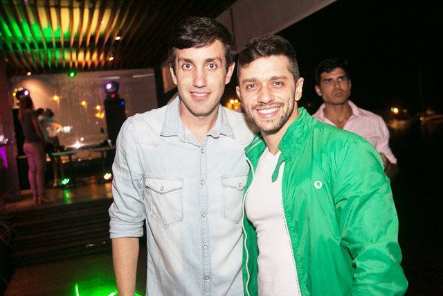 André Gagliano e José Augusto Vasconcelos - Sócios San Sebastian