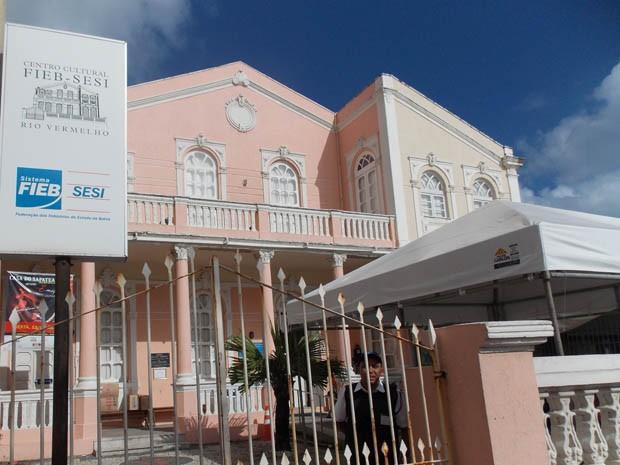 Teatro SESI (Foto: Danutta Rodrigues / G1)