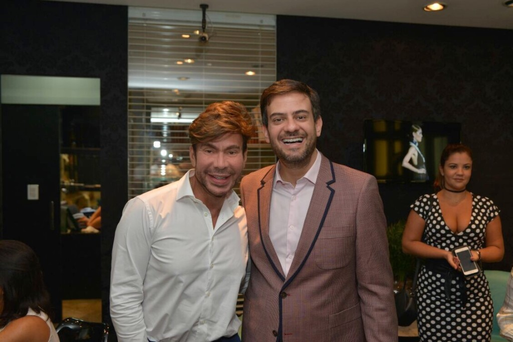 Carlos Rodeiro e Bruno Astuto (Foto: Marcelo Machado)
