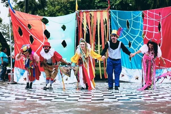 Circuito vai apresentar espetáculo Dia de Circo_Nte Uirá