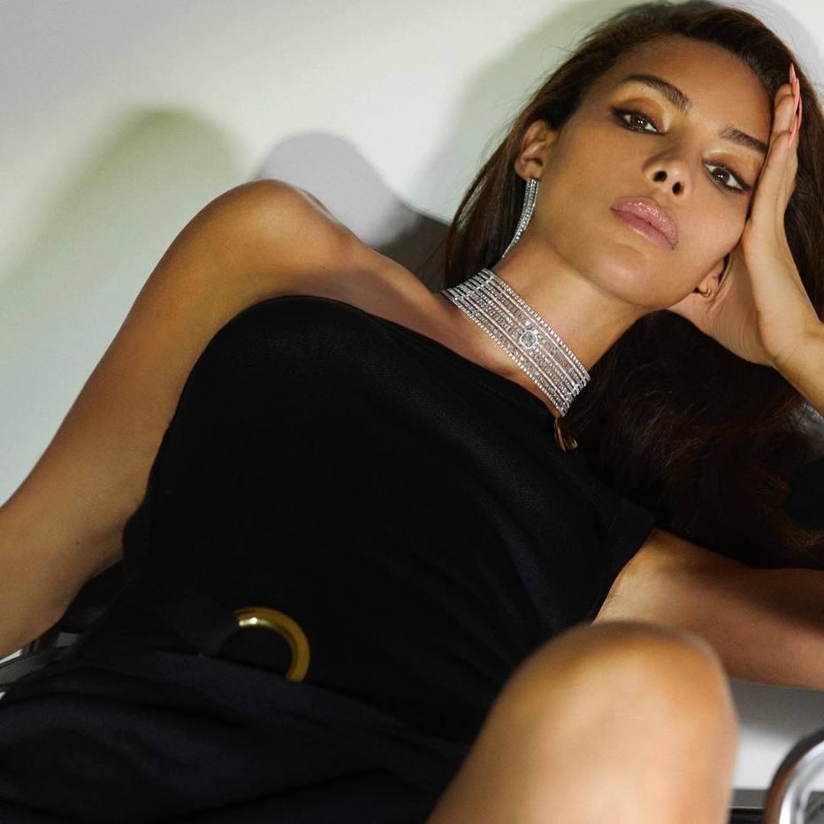 Modelo francesa Ines Rau (Foto: Reprodução Instagram/@supa_ines)