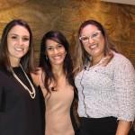 Monique Domingues, Vivi Andrade e Aline Manta (Foto: Divulgação)
