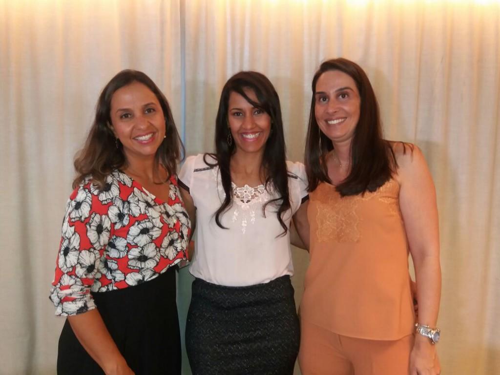 Vaneska Schmidt, Vivi Andrade e Leila Andrade Campos (Foto: Divulgação)