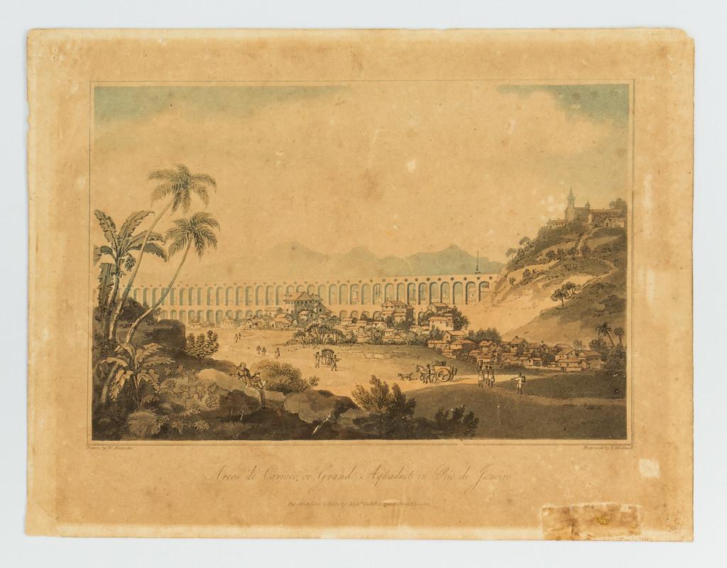 Litogravura_Aqueduto_da _Lapa_John_White_Alexander_1806