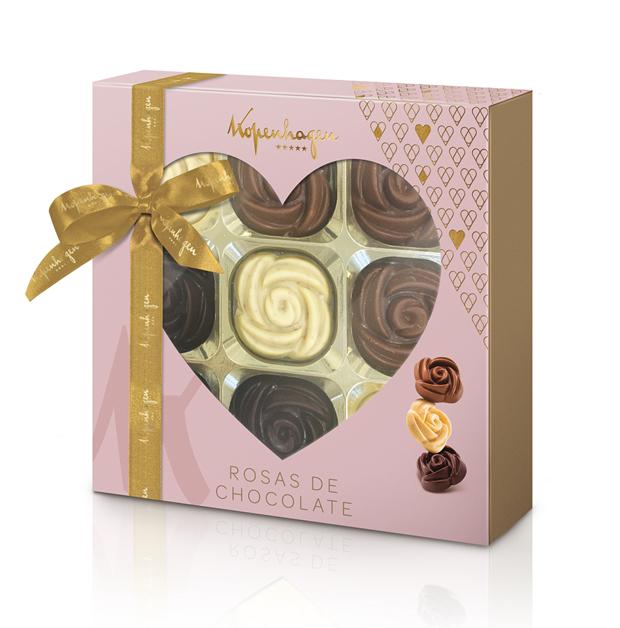 Rosas de Chocolate 180g Kopenhagen 1