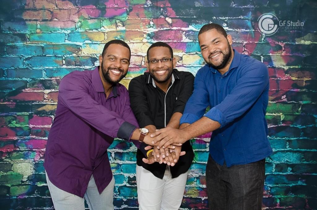 Sandro Felipe, Hilvan Santos e Augusto Nery (Foto: Divulgação)