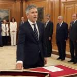 Fernando Grande-Marlaska na tomada de posse como ministro do Interior (Foto: AFP/Getty Images)