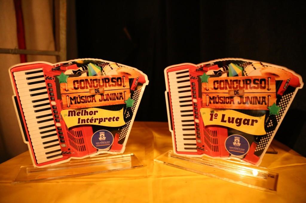 Trofeus do Concurso