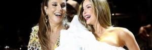 Ivete e Claudia