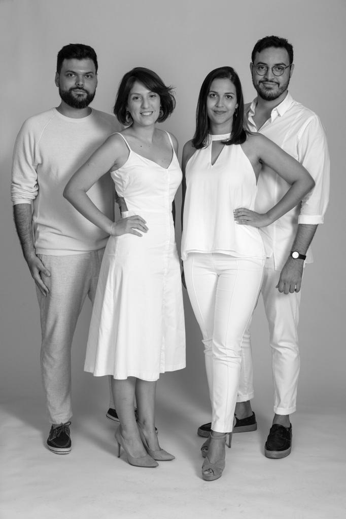 Adalberto Vilela, Cecília Miscow, Vanessa Sampaio e Tiago Schultz