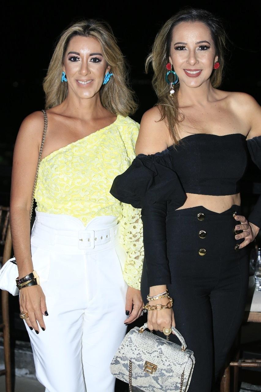 Rosana Barreto e Isabela Mendonça